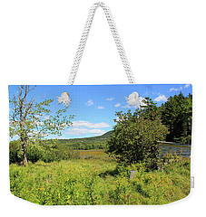 Along The Banks Weekender Tote Bag