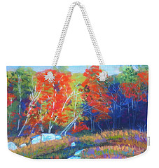 Along The Bi-highway  Weekender Tote Bag