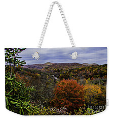 Along The Blue Ridge Parkway Weekender Tote Bag