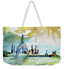 Along The Chao Phaya River Weekender Tote Bag by Tom Simmons