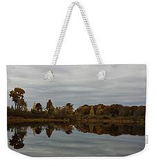 Along The Charles Weekender Tote Bag