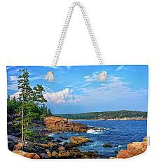 Along The Coast In Acadia National Park Weekender Tote Bag