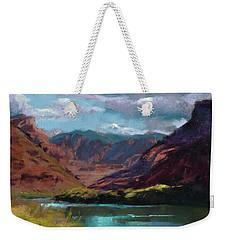 Along The Colorado Weekender Tote Bag