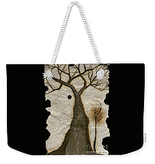 Along The Crumbling Fork In The Road Of The Tree Of Life Acfrtl Weekender Tote Bag by Talisa Hartley
