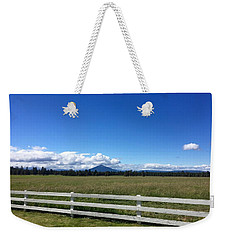 Along The Fence Line Weekender Tote Bag