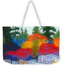 Along The Highway  Weekender Tote Bag