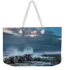 Along The Jetty Weekender Tote Bag
