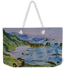 Along The Oregon Trail  Weekender Tote Bag by Warren Thompson