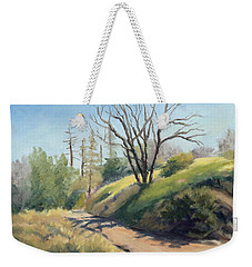 Along The Pacific Crest Trail Weekender Tote Bag