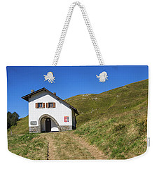 Along The Path Towards The Summit Of The Mountain Weekender Tote Bag