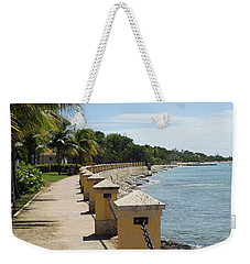 Along The Pier Weekender Tote Bag