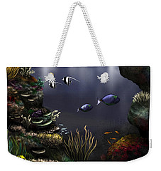 Along The Reef Weekender Tote Bag