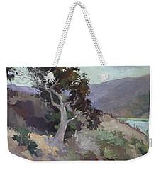 Along The Shore - Plein Air  Catalina Island Weekender Tote Bag