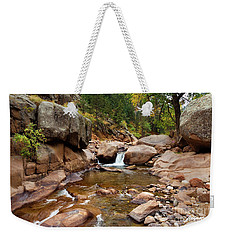 Along The St. Vrain Weekender Tote Bag