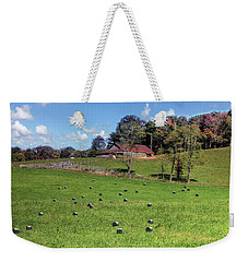 Along The Tracks Weekender Tote Bag