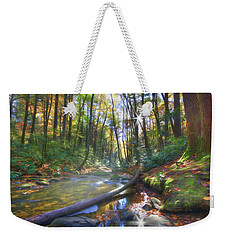 Along The Trail In Georgia Weekender Tote Bag