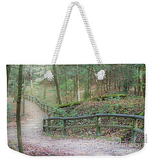 Along The Trail, Life Happens Weekender Tote Bag