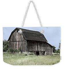 Weekender Tote Bag featuring the photograph Along The Way by Kim Hojnacki