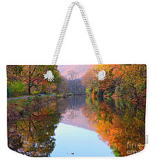 Along These Autumn Days Weekender Tote Bag