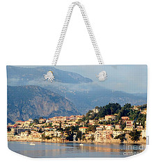 Along Villefranche Coast Weekender Tote Bag