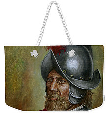 Alonso De Alvarado Weekender Tote Bag by Arturas Slapsys
