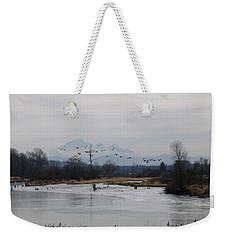 Alouette River Weekender Tote Bag