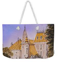 Aloxe Corton Chateau Jaune Weekender Tote Bag by Mary Ellen Mueller Legault
