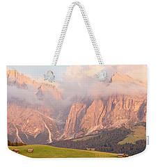Alpe Di Suisi Sunset Panorama Weekender Tote Bag