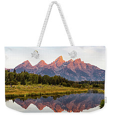 Alpen Glow Weekender Tote Bag by Mary Hone