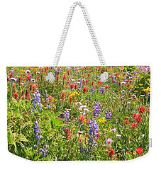 Alpine Glory Weekender Tote Bag