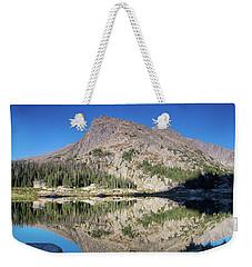 Alpine Lake Sunrise Weekender Tote Bag