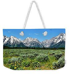 Alpine Meadow Teton Panorama II Weekender Tote Bag