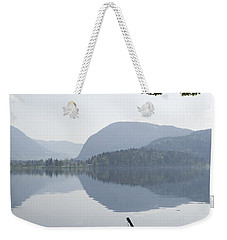 Weekender Tote Bag featuring the photograph Alpine Moods by Ian Middleton
