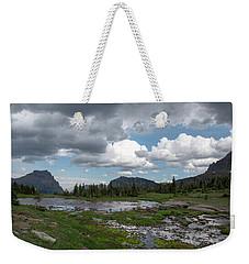 Alpine Oasis Weekender Tote Bag