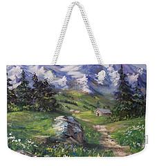 Alpine Splendor Weekender Tote Bag