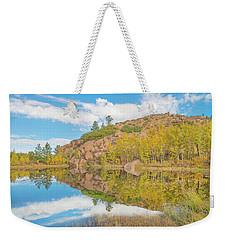 Alpine Vale Reflection  Weekender Tote Bag
