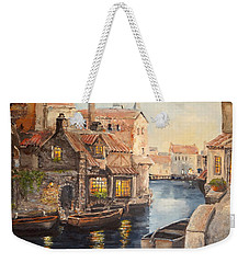 Alsace At Dusk Weekender Tote Bag