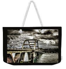 Alsea Bay Bridge Weekender Tote Bag by Thom Zehrfeld