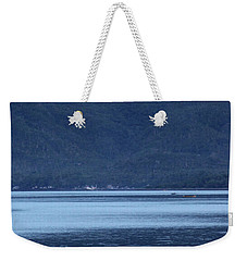 Also Blue This Morn Weekender Tote Bag