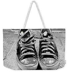 Old Sneakers. Weekender Tote Bag by Don Pedro De Gracia