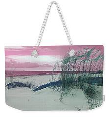 Alternate Beachscape  Weekender Tote Bag by Rachel Hannah