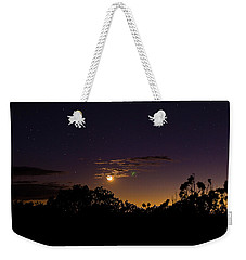 Alternate Moon Weekender Tote Bag