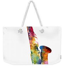 Alto Sax Weekender Tote Bag