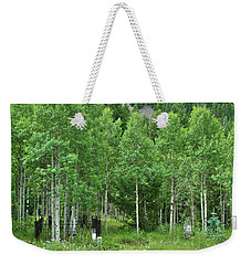 Weekender Tote Bag featuring the photograph Alvarado Summer by Marie Leslie