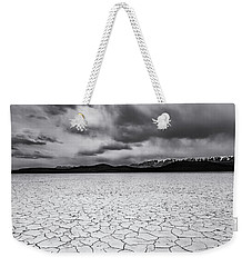 Weekender Tote Bag featuring the photograph Alvord Desert by Cat Connor