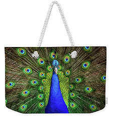 Weekender Tote Bag featuring the photograph Always Colorful by Elaine Malott
