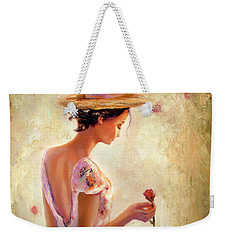 Always Flowers Weekender Tote Bag