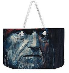 Always On My Mind - Willie Nelson  Weekender Tote Bag by Paul Lovering