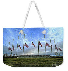 Always Remember Weekender Tote Bag by Luther Fine Art