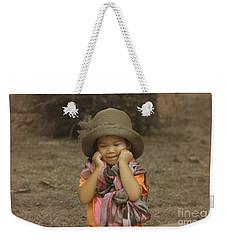 am I cute Weekender Tote Bag